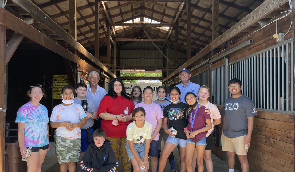 A great farm visit with the Brighton Center youth!