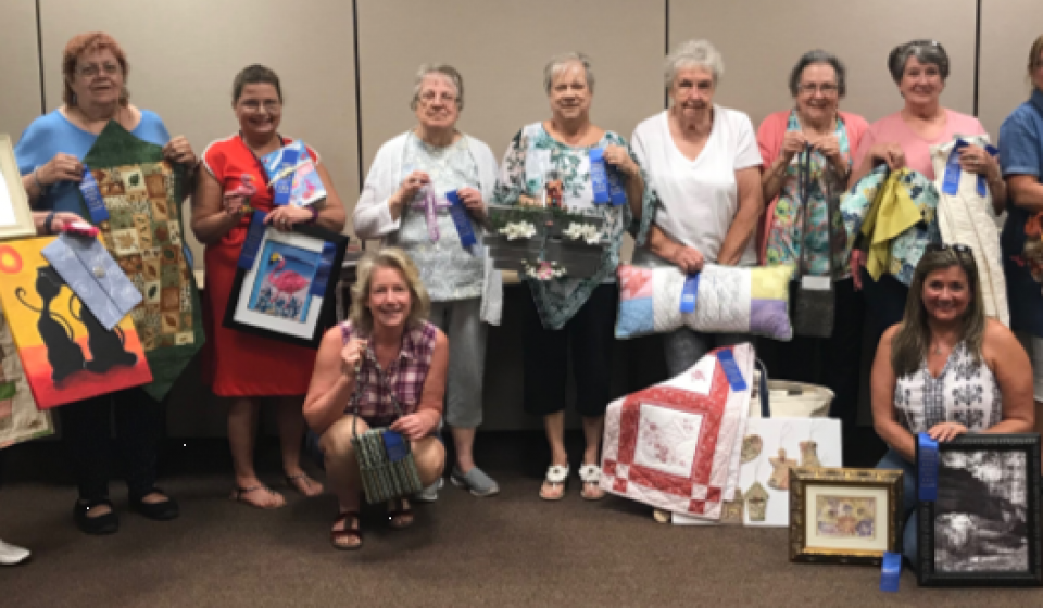 Campbell County Homemakers Cultural Arts Winners