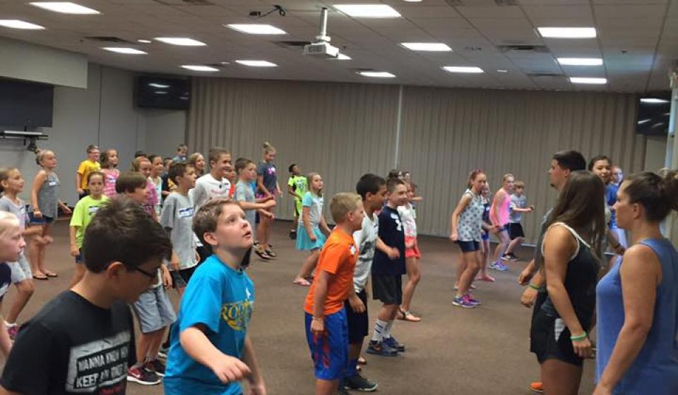 61 4-H Campers learned some camp dances yesterday at First Year Camper Day! Thanks to the counselors who helped!