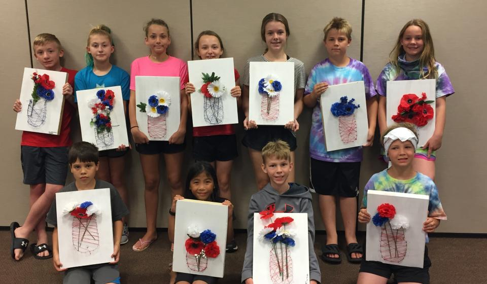 4-H Mixed Media Art Class