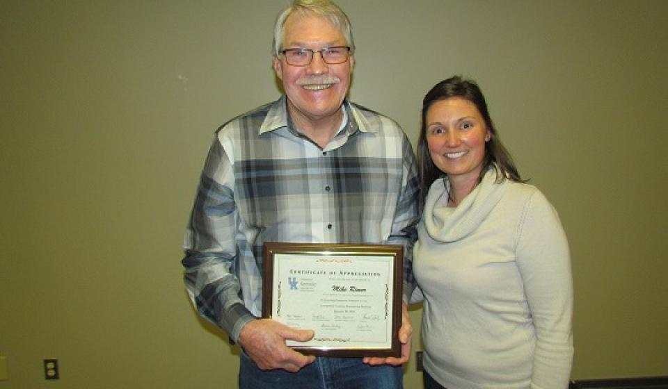 Outstanding Horticulture Extension Volunteer