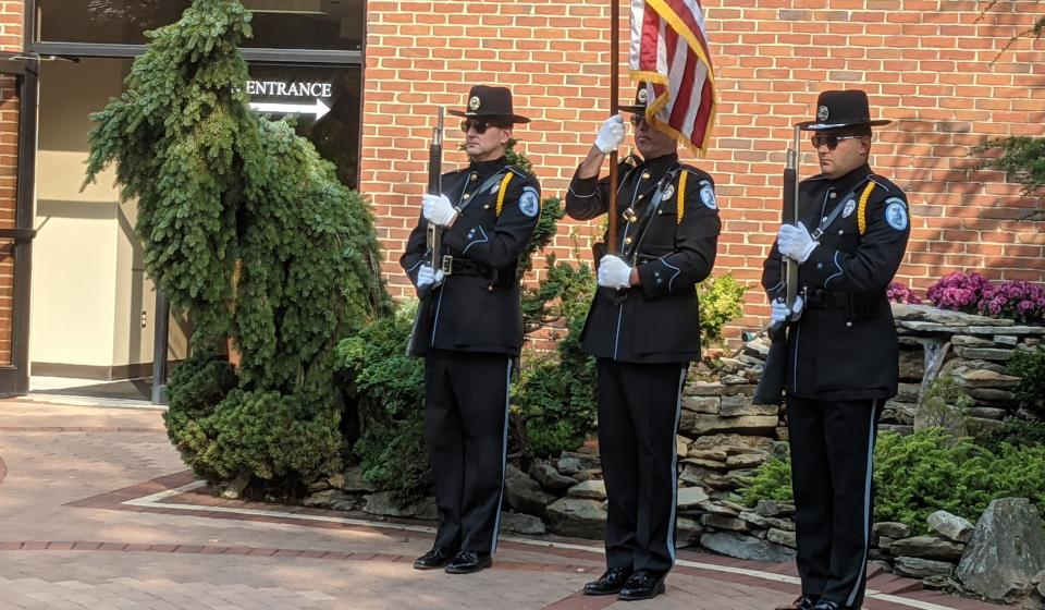 2021 Open House - Thank You Campbell County Police Honor Guard